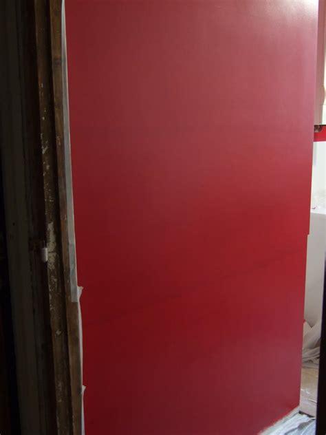traces de reprise peinture acrylique