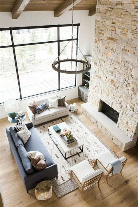 Rustic Meets Modern Mountain Home rustic meets modern in mountain home decoholic