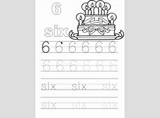 Number 6 Worksheets Softschools Loving Printable