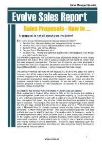 Sle Of Report Writing ho to write a sales that wins the business