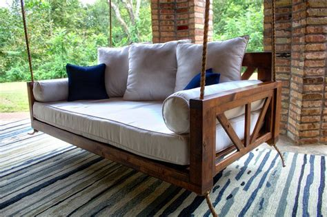 avery wood twin porch swing bed daybed porch swing bed