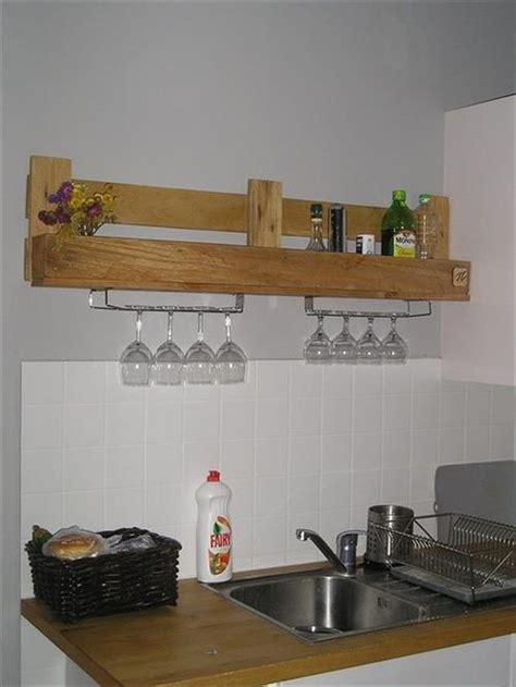shelves in kitchen ideas 15 diy wooden pallet shelves pallets designs
