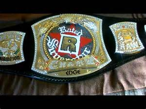 Rated R WWE Championship Spinner Belt