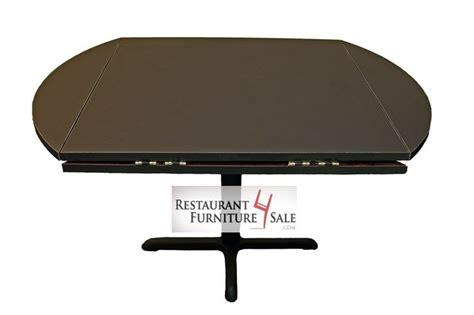 drop leaf laminated restaurant table top expands