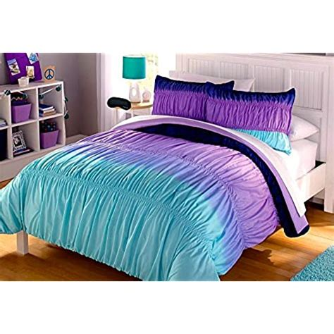 Blue and Purple Bedding: Amazon.com