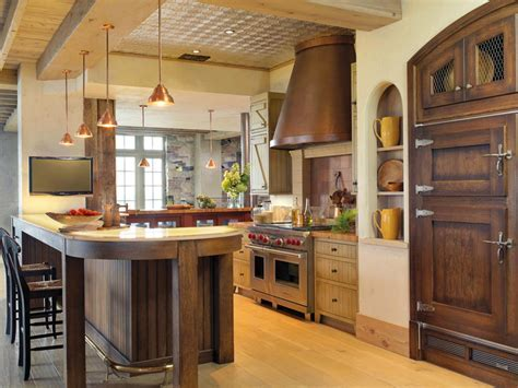 Rustic Kitchen Cabinets: Pictures, Options, Tips & Ideas