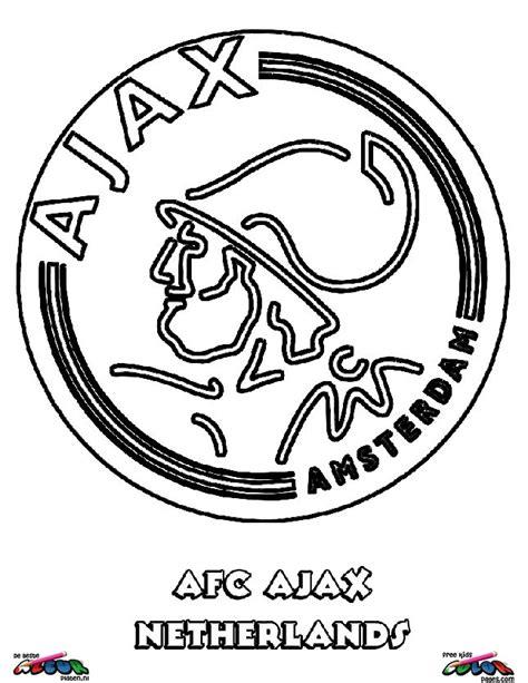 Kleurplaat Voetbalstadion by Ajax002 De Beste Kleurplaten