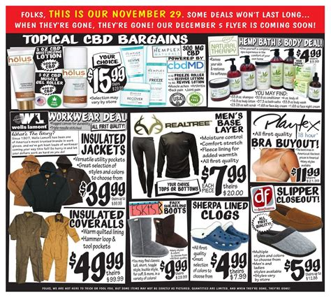 bargain outlet ollie ad friday weekly deals ollies advertisement promotons