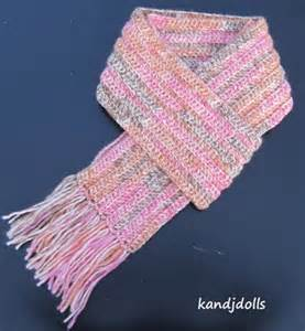 Free Easy Crochet Scarf Pattern