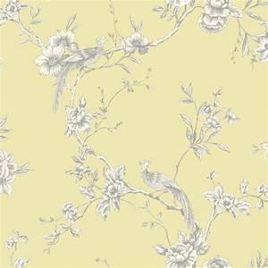 Arthouse Opera Chinoise Yellow Wallpaper- 422804 - Cut