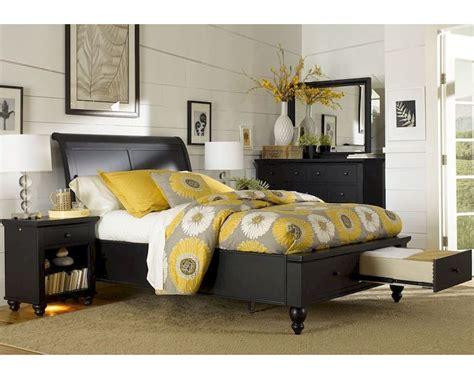 *aspenhome Storage Bedroom Cambridge In Black Asicb
