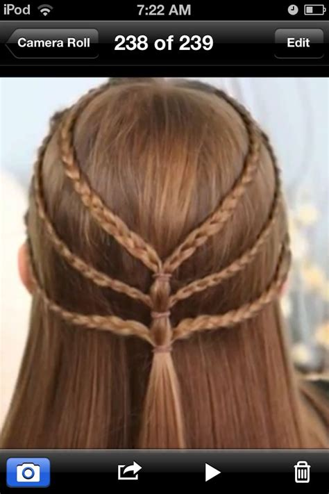 Super easy hairstyle for school I found this on a website