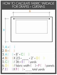 Imagine Design How To Calculate Yardage For Window