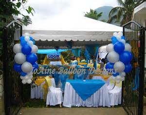 Up Decorations by Outdoor Birthday At Marinduque Joaine Balloon Designs
