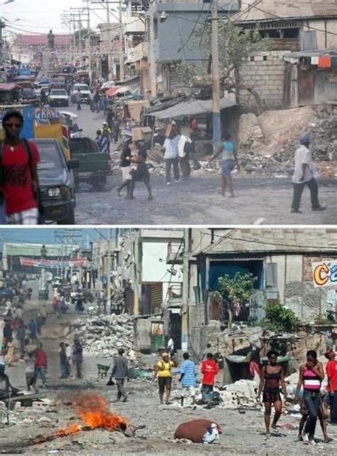 Haiti Tremblement De Terre 2014 by Ha 239 Ti Cinq Ans Apr 232 S Le S 233 Isme O 249 En Est La Reconstruction