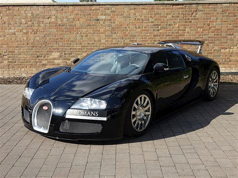 The front section is dominated by larger and completely redesigned air vents. 2007 Used Bugatti Veyron 16.4 | Single Tone Black