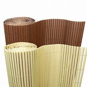 Bambus Sichtschutz Für Balkon : 5 m bambus pvc sichtschutzmatte sichtschutz zaun balkon garten blickschutz ebay ~ Markanthonyermac.com Haus und Dekorationen