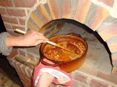 cuisine four a bois week end cuisine suite construire four à