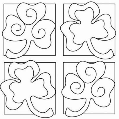 Coloring St Pages Shamrock Printable Patricks Sheets