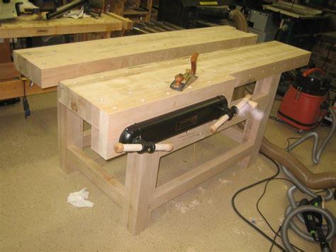 roubost blend workbench  woodwrangler  lumberjocks