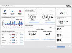 Get the Social Media Overview Dashboard Klipfoliocom