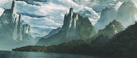 fantasy Art, Nature, Landscape, Mountain, Render ...