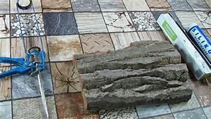 Gussformen Selber Herstellen : silikonform f r die baumstammstrucktur selber basteln ~ Michelbontemps.com Haus und Dekorationen