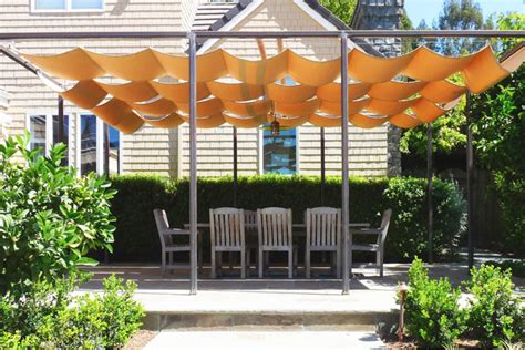 patio structures for shade choosing a retractable canopy track single multi cable or roll