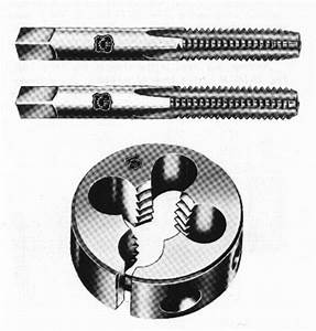 Die Shaft Size Chart Two Taps And A Die