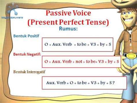 Passive Voice Present Perfect Tense Universitas Muhammadiyah Surakarta Youtube