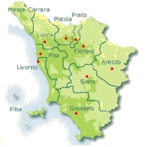 Thermen Toskana Karte