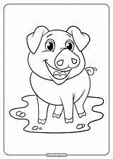 Rabbit Coloringoo sketch template