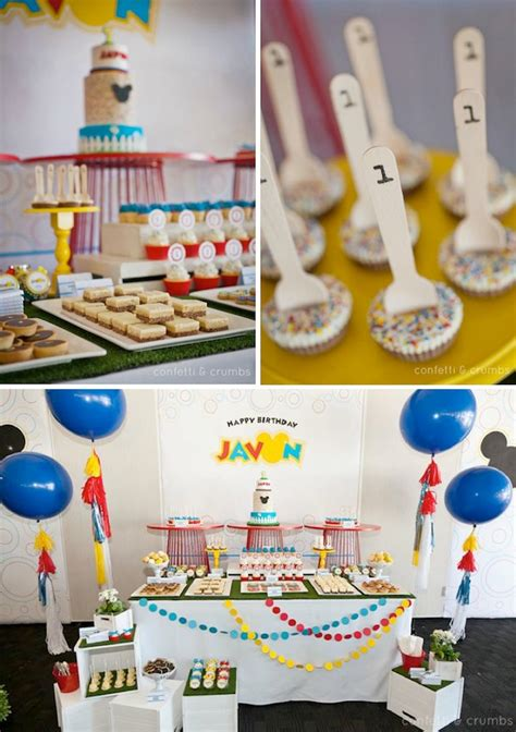 1st birthday party ideas for boys new party ideas kara 39 s party ideas mickey mouse 1st birthday boy disney