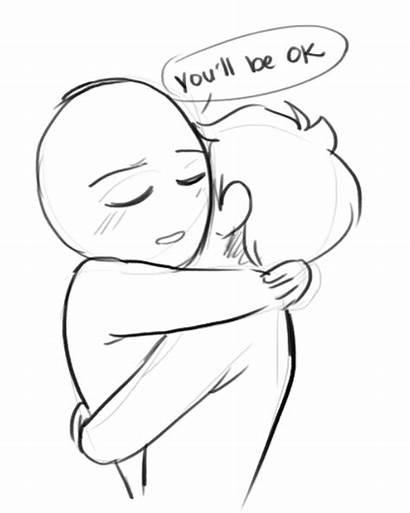 Hug Hugs Drawing Cartoon Bid Fast General
