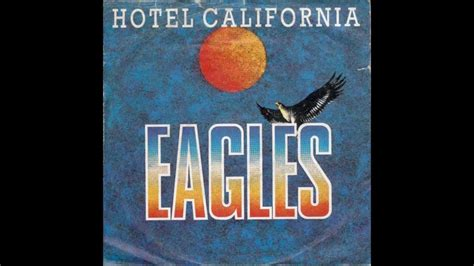 Hotel California Backing Track Youtube