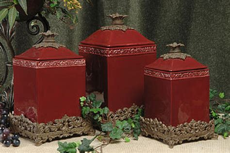 burgundy kitchen canisters canisters for kitchen