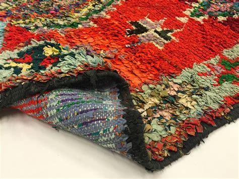 moroccan boucherouite rug moroccan berber rug boucherouite 240 x 140 cm