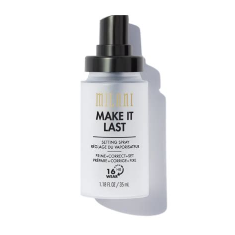 travel size natural finish setting spray