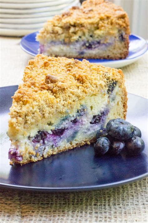 So, this one is easy. Blueberry Cream Cheese Coffee Cake Recipe - Best Recipes Collection | All Favourite Recipes