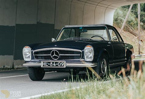 Exclusive reports and current films: Classic 1968 Mercedes-Benz 280 SL Pagoda for Sale. Price 100 000 EUR   Dyler