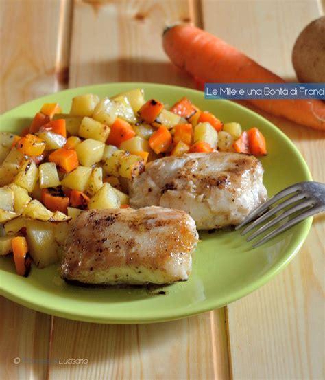 fiori di merluzzo in padella fiori di merluzzo con patate e carote