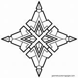 Coloring Geometric Geometry Quiver Dash Adult Adults Simple Pdf Geometrical Drawing Mandala Pattern Printable Shape 3d Clipart Clip Colouring Shapes sketch template