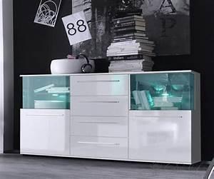 Kommode Weiß Mit Glas : kommode glas architektur sideboard tokyo 144x82 cm weiss kommode 2 t ren mit beleuchtung 88297 ~ Bigdaddyawards.com Haus und Dekorationen
