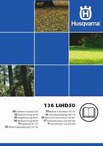 Husqvarna 136 Lihd50 Tools Download Manual For Free Now