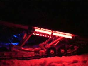 Snow Glow Neon and LED Night Ride