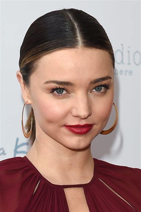 miranda kerr hair styles miranda kerr medium brown low ponytail peek a 4568