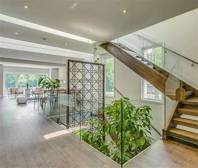 Stairs Indoor Garden Under Decoration Plants Architecture