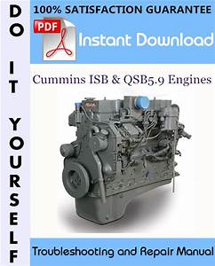 Cummins Isb  U0026 Qsb5 9 Engines Troubleshooting And Repair
