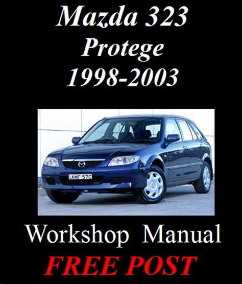 Repair Manual Mazda Protege Free