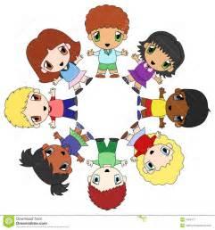 Children Circle Time Clip Art